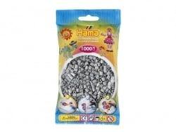 Sachet de 1000 perles Hama MIDI -gris