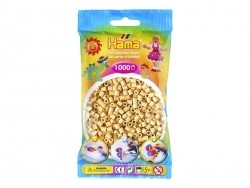 Bag of 1,000 HAMA MIDI beads - beige Hama - 1