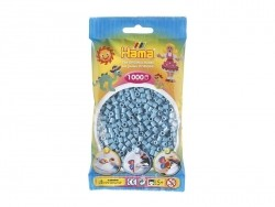 Bag of 1,000 HAMA MIDI beads - turquoise Hama - 1