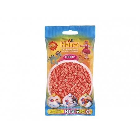 Sachet de 1000 perles Hama MIDI - corail 44 Hama - 1