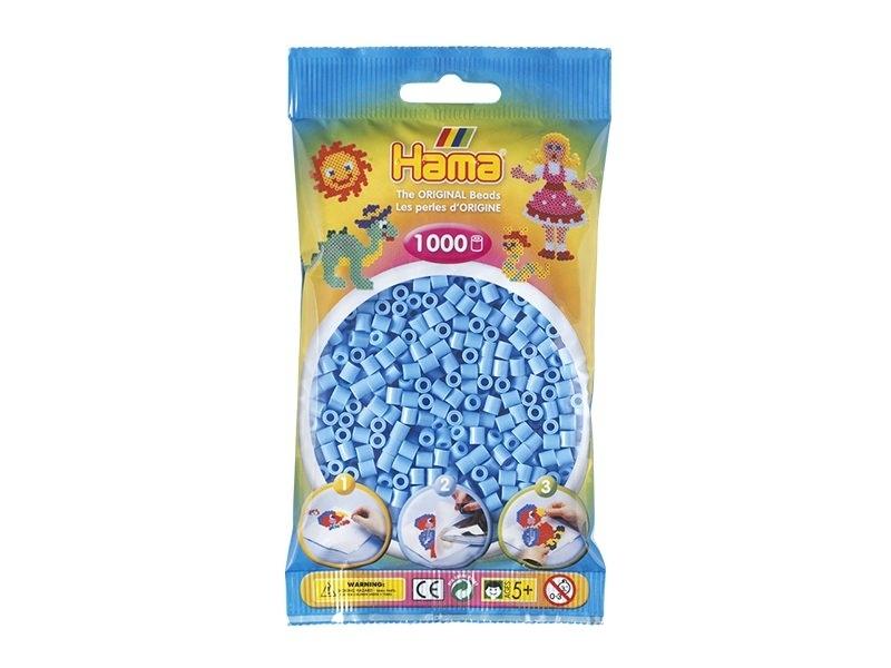 Sachet de 1000 perles Hama MIDI - bleu pastel 46 Hama - 1