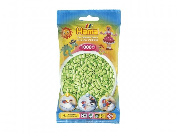 Sachet de 1000 perles Hama MIDI - vert pastel 47 Hama - 1