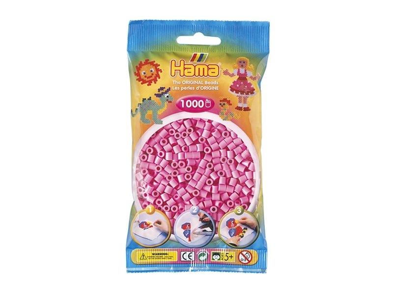Sachet de 1000 perles Hama MIDI - rose pastel 48 Hama - 1