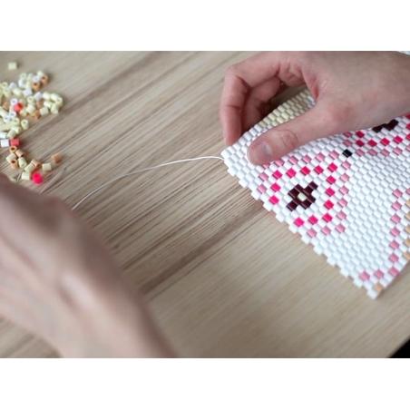 Sachet de 1000 perles Hama MIDI - rose pastel 48 Hama - 2