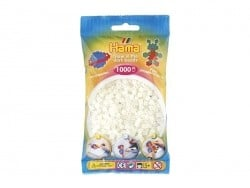 Sachet de 1000 perles Hama MIDI - phosphorescent