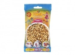 Bag of 1,000 HAMA MIDI beads - gold Hama - 1