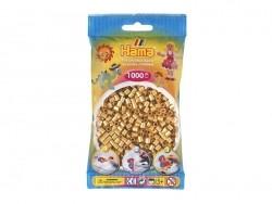 Sachet de 1000 perles Hama MIDI - doré