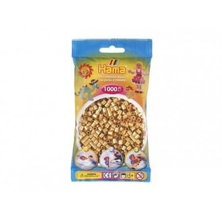 Sachet de 1000 perles Hama MIDI - doré 61 Hama - 1