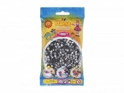 Sachet de 1000 perles Hama MIDI - argenté