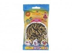 Bag of 1,000 HAMA MIDI beads - bronze Hama - 1