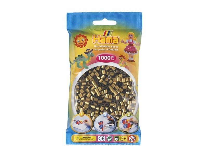 Sachet de 1000 perles Hama MIDI - bronze 63 Hama - 1