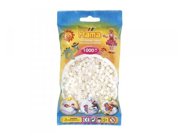 Sachet de 1000 perles Hama MIDI - blanc nacré 64 Hama - 1