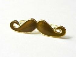 Acheter Une double bague moustache marron foncé - 4,99€ en ligne sur La Petite Epicerie - 100% Loisirs créatifs