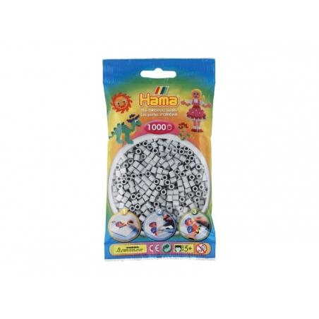 Sachet de 1000 perles Hama MIDI - gris clair 70 Hama - 1