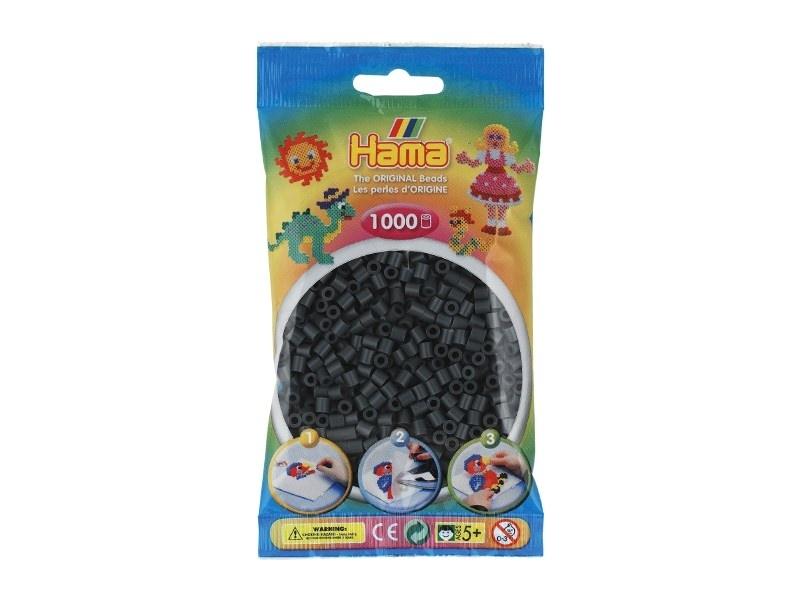 Sachet de 1000 perles Hama MIDI - gris foncé 71 Hama - 1