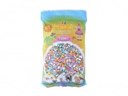 Bag of 1,000 HAMA MIDI beads - stripes (different colours) Hama - 1