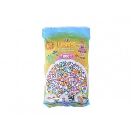 Sachet de 1000 perles Hama MIDI - bicolore multicolore 90 Hama - 1