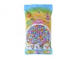 Sachet de 1000 perles Hama MIDI - bicolore duo