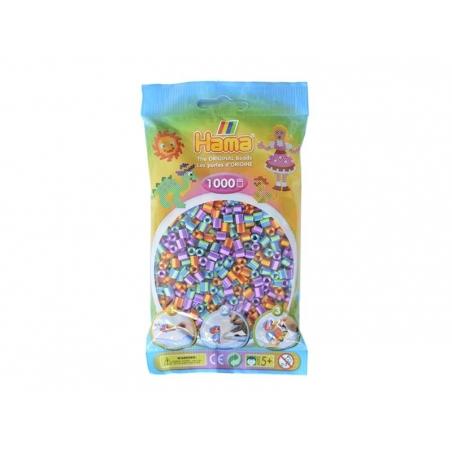Sachet de 1000 perles Hama MIDI - bicolore duo 92 Hama - 1