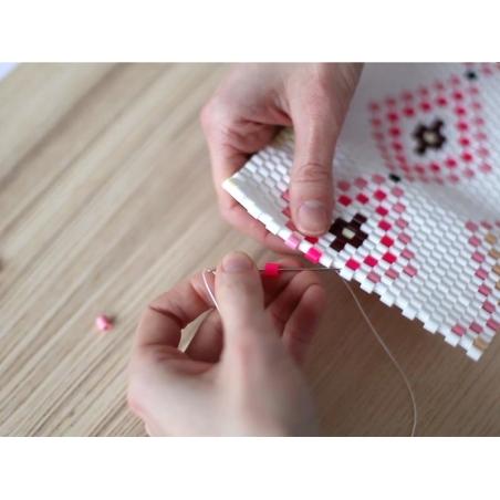 Sachet De 1000 Perles Hama Midi Bicolore Duo Bricolages Pour Enfants