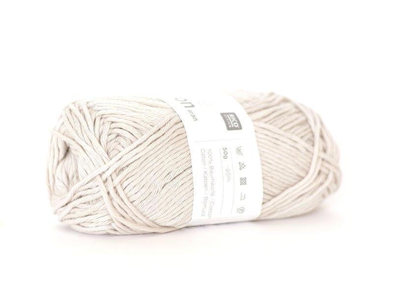 """Acheter Coton à tricoter """"Creative Cotton Aran"""" - Gris argenté 22 - 2,79€ en ligne sur La Petite Epicerie - Loisirs créatifs"""