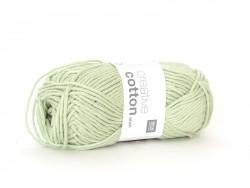 "Cotton knitting yarn - ""Creative Cotton Aran"" - aquamarine (colour no. 42)"