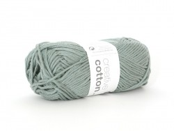 "Cotton knitting yarn - ""Creative Cotton Aran"" - patina (colour no. 43)"
