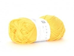 "Cotton knitting yarn - ""Creative Cotton Aran"" - banana (colour no. 68)"