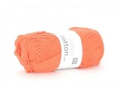 "Cotton knitting yarn - ""Creative Cotton Aran"" - lobster (colour no. 75)"