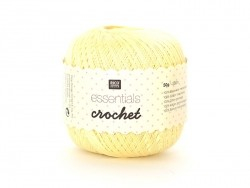 "Crochet cotton - ""Essentials - Crochet"" - vanilla (colour no. 20)"