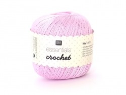 "Crochet cotton - ""Essentials - Crochet"" - pink (colour no. 21)"
