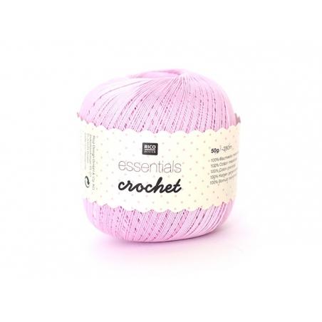 "Fil à crocheter ""Essentials Crochet"" - rose 21"