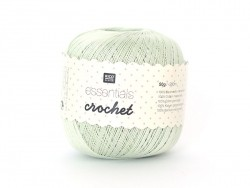 "Crochet cotton - ""Essentials - Crochet"" - mint (colour no. 23)"