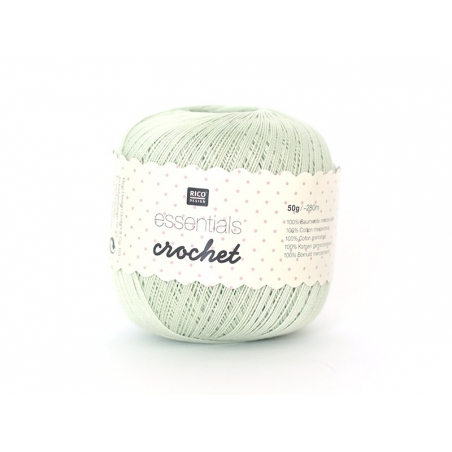 "Fil à crocheter ""Essentials Crochet"" - menthe 23"