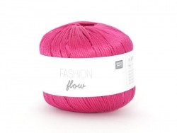 "Knitting yarn - ""Fashion Flow"" - fuchsia (colour no. 04)"