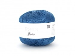 "Knitting yarn - ""Fashion Flow"" - petrol blue (colour no. 05)"