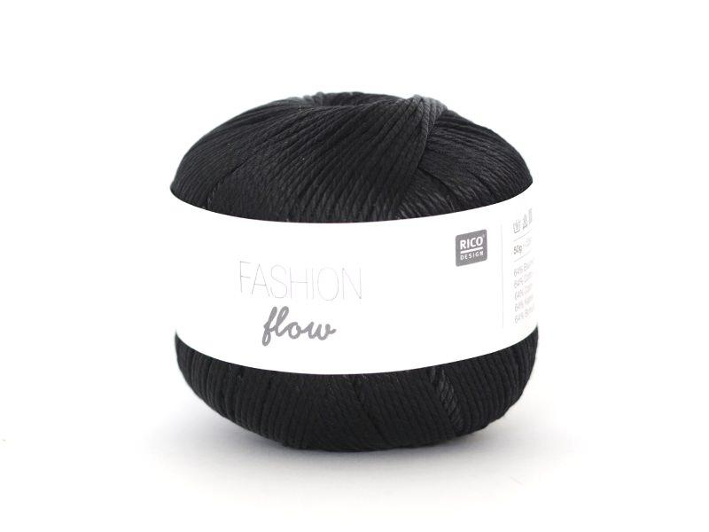 "Fil à tricoter ""Fashion Flow"" - Noir 06"