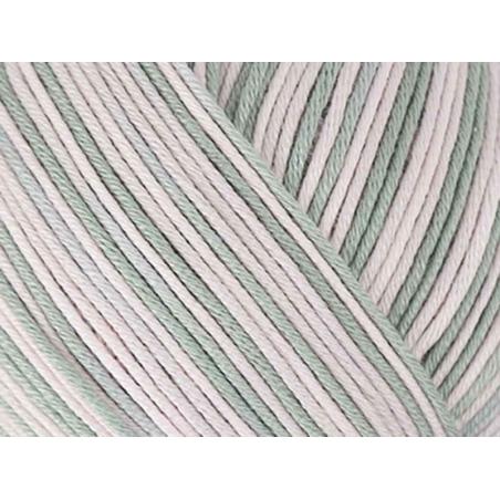 """Coton à tricoter """"Essentials Cotton Print DK"""" - Lilas mix 03"""