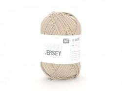 """Strickgarn - """"Fashion Jersey"""" - beige (Farbnr. 02)"""