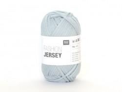 """Fil à tricoter """"Fashion Jersey"""" - Bleu fumé 06"""