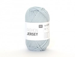 "Knitting yarn - ""Fashion Jersey"" - smoke blue (colour no. 06)"