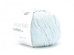 """Coton à tricoter """"Essentials Cotton DK"""" - vert glacé"""