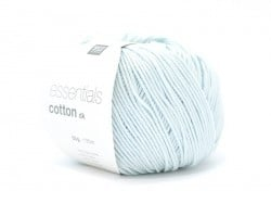 "Cotton knitting yarn - ""Essentials Cotton DK"" - ice green"