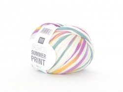 "Knitting yarn - ""Fashion Summer Print"" - pastel (colour no. 07)"