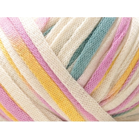 "Fil à tricoter ""Fashion Summer Print"" - Pastel 07"