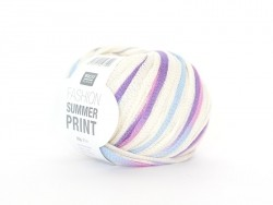 "Knitting yarn - ""Fashion Summer Print"" - sunset (colour no. 010)"
