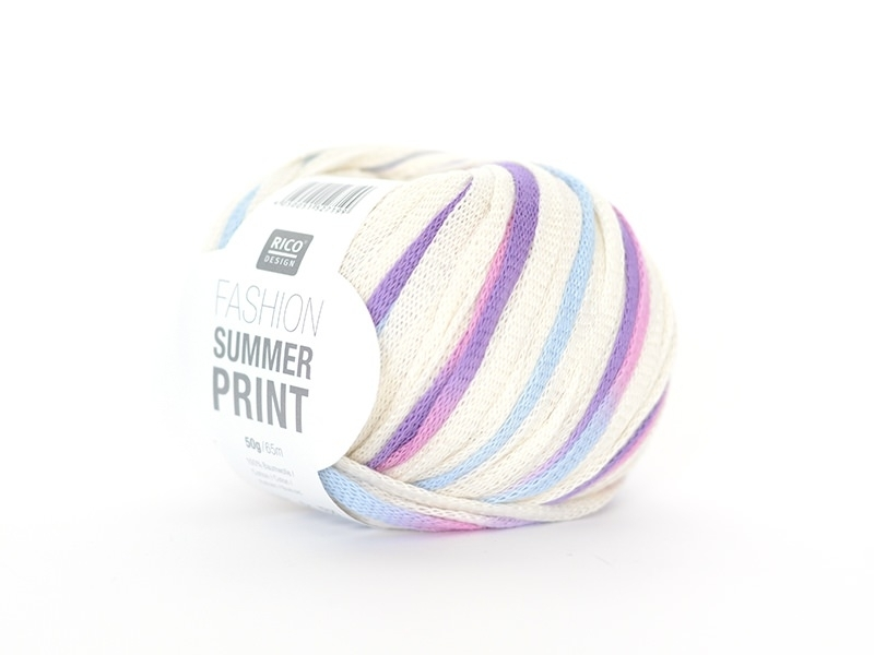 "Fil à tricoter ""Fashion Summer Print"" - Sunset 010"