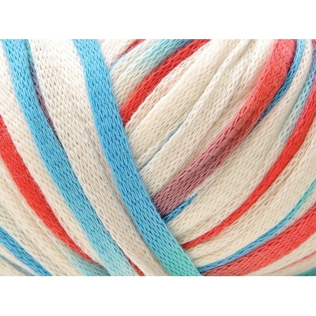 """Fil à tricoter """"Fashion Summer Print"""" - Ocean 011"""