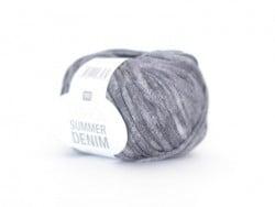 """Strickgarn - """"Fashion Summer Denim"""" - graublau (Farbnr. 06)"""