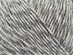 "Coton à tricoter ""Fashion Cotton Mouliné Glitz DK"" - gris 02"
